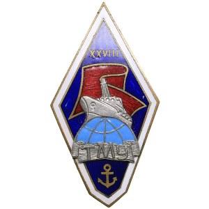 Russia - USSR graduation badge ТМУ XXVIII