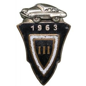Russia - USSR badge Driving School III 1963