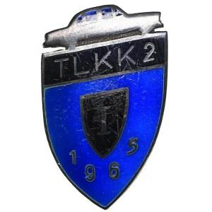 Russia - USSR badge Driving School TLKK 2 1965 I