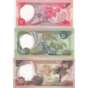Angola 20,50,100 escudos 1972
