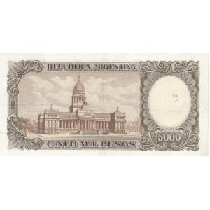 Argentina 5000 pesos 1962-69