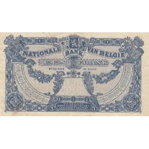 Belgium 1 franc 1920
