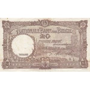 Belgium 20 francs 1948