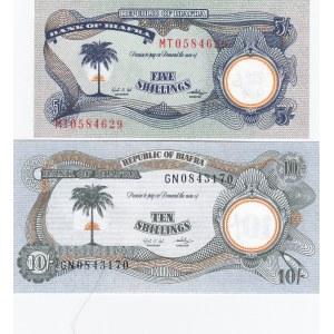 Biafra 5 & 10 shillings 1969