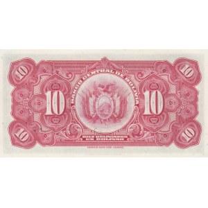 Bolivia 10 bolivanos 1928