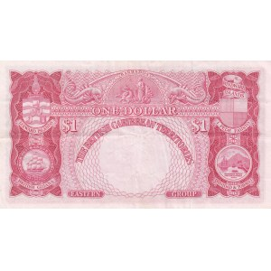British Caribbean Territories 1 dollar 1954