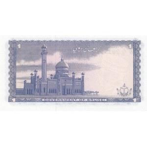 Brunei 1 ringgit 1967