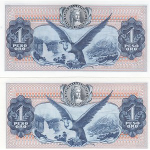 Colombia 1 peso 1971 & 1972