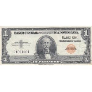 Dominican Republic 1 peso 1961