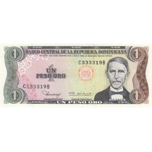 Dominican Republic 1 peso 1980
