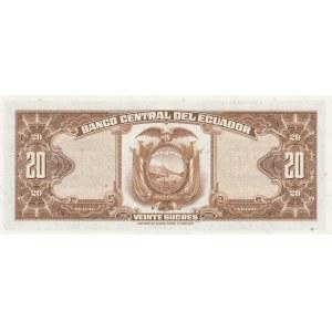 Ecuador 20 sucres 1969 (5.11.69)