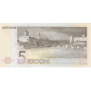 Estonia 5 krooni 1992