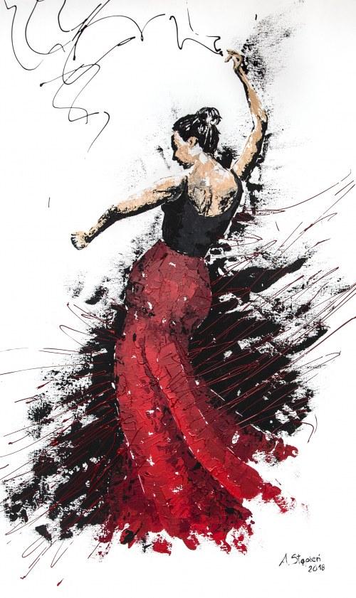 Anna Stępień, Gorące flamenco, 2018r.