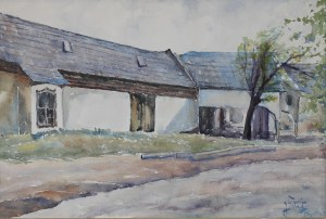 Julian FAŁAT (1853 Tuligłowy k. Przemyśla - 1929 Bystra k. Bielska Białej), Zabudowania w Bystrej