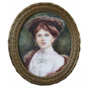 MN, Portret młodej kobiety