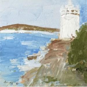 Emmanuel KATZ zw. Mané-Katz (1894-1962), Nad morzem, 1961