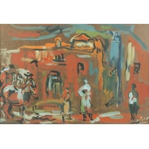 Samuel TEPLER (1918-1999), Scena rodzajowa