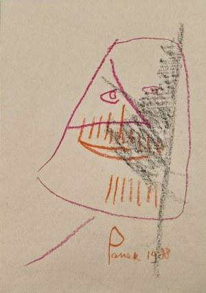 Jerzy PANEK (1918-2001), Twarz, 1988