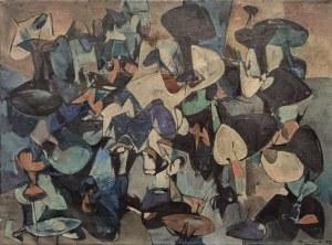 Włodzimierz BUCZEK (ur. 1931), Kompozycja, 1957