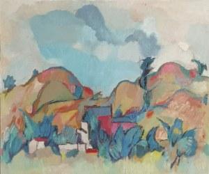Jan ŚWIDERSKI (1913-2004), Podgórze, 1995