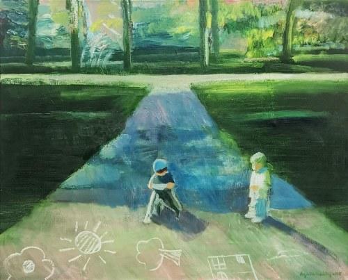 Agata BALTYZAR (ur. 1979), Narysować świat, 2020