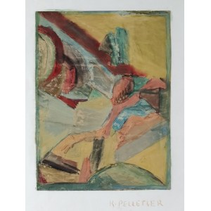 Krystyna PELLETIER (1914-2007), Kompozycja figuratywna