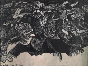 Stefan SUBERLAK (1928-1994), Kompozycja, 1957