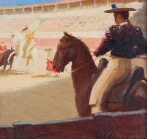 Artur WASNER (1887-1939), Corrida w Madrycie, 1913