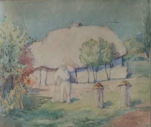 Jan SZCZERBINIENKO, XX w., W pasiece, 1926