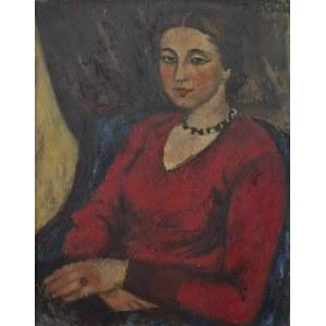 Jerzy FEDKOWICZ (1891-1959), Portret kobiety, ok. 1930