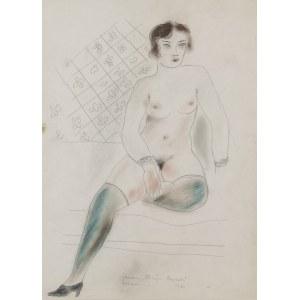 Janusz Maria BRZESKI (1907-1957), Akt kobiety, 1931