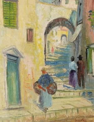 Zygmunt SCHRETER (1886-1977), Przy schodach