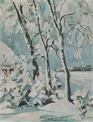 Zdzisław PRZEBINDOWSKI (1902-1986), Pejzaż zimowy