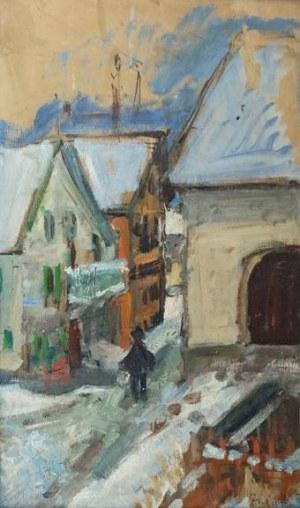Zygmunt SCHRETER (1886-1977), Celerina zimą