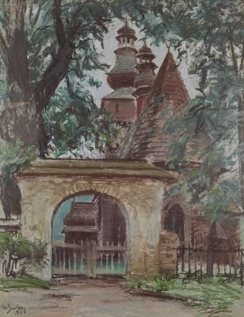 Władysław SERAFIN (1905-1988), Kościół zakopiański, 1960