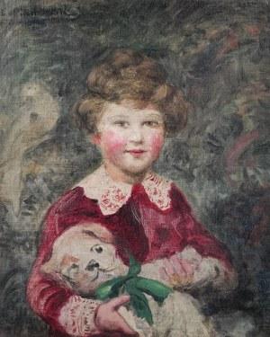 Leopold PILICHOWSKI (1869-1933), Dziewczynka z rumieńcem