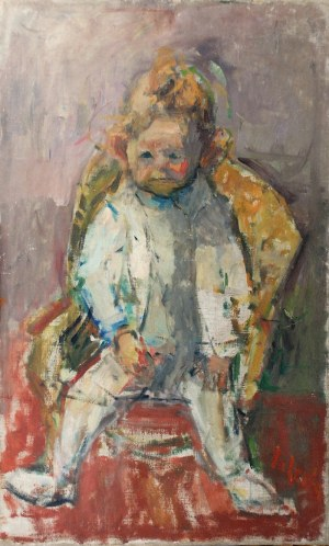 Zygmunt SCHRETER (1886-1977), Chłopczyk w foteliku