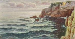 Józef CHLEBUS (1893-1945), Skaliste wybrzeże, 1928