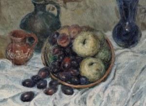Jan CHWIERUT (1901-1973), Martwa natura z owocami