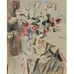 Czesław RZEPIŃSKI (1905-1995), Kwiaty w wazonie