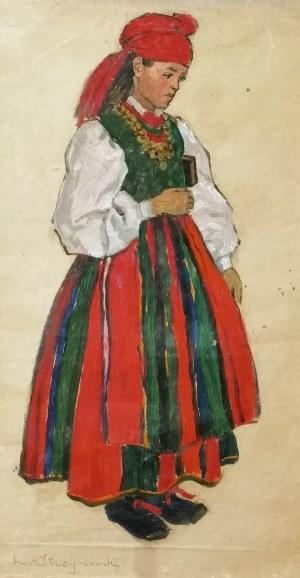 Leonard STROYNOWSKI (1858-1935), Łowiczanka