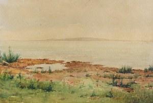 Józef RAPACKI (1871-1929), Pejzaż z okolic Olszanki, ok. 1920