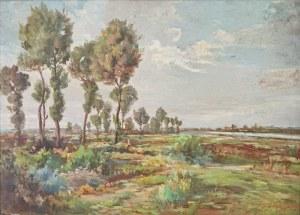 Jerzy POTRZEBOWSKI (1921-1974), Pejzaż, 1961
