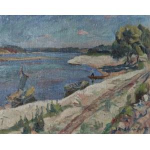 Jan KARMAŃSKI (1887-1958), Nad Wisłą, 1912