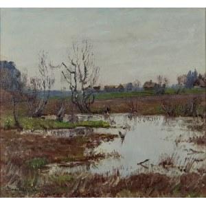 Stefan DOMARADZKI (1897-1983), Pejzaż wiosenny, 1941