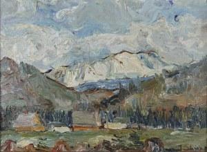 Jerzy ŚLIWKA (1895-?), Widok na Giewont