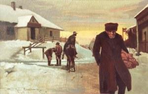 Kazimierz BIEŃKOWSKI (1838-1918), Los, 1911