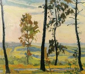 Stanisław KAMOCKI (1875-1944), Pejzaż - Na skraju lasu