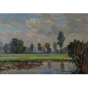 Franciszek WÓJCIK (1903-1984), Staw, 1953