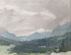 Stanisław GAŁEK (1876-1961), Pejzaż górski, 1927